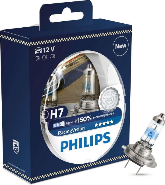 Philips H7 Racing Vision RacingVision +150% X-Treme 2st.
