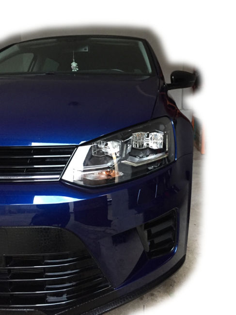 adapter 6c led scheinwerfer f r vw polo 6r mit xenon 99 90 eur. Black Bedroom Furniture Sets. Home Design Ideas